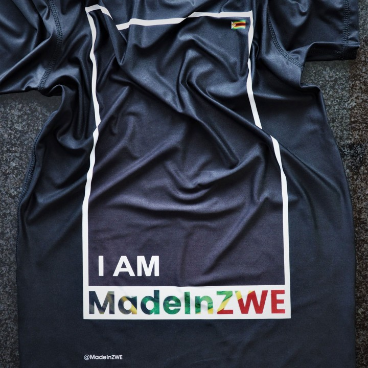 I AM MADE IN ZWE T-SHIRT