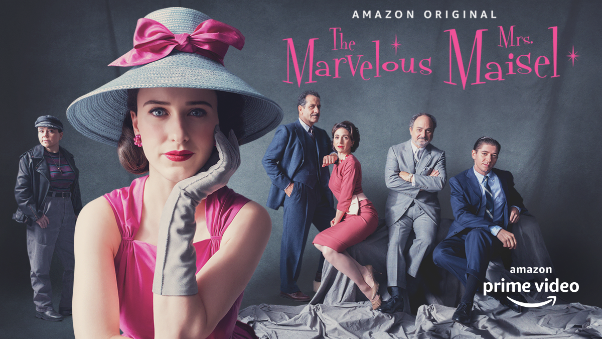 maiselapv - MUNASHE stars in 'The Marvelous Mrs. Maisel' TV ad for Amazon Prime Video